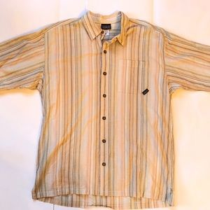 Patagonia Organic Cotton Striped SS Shirt Medium